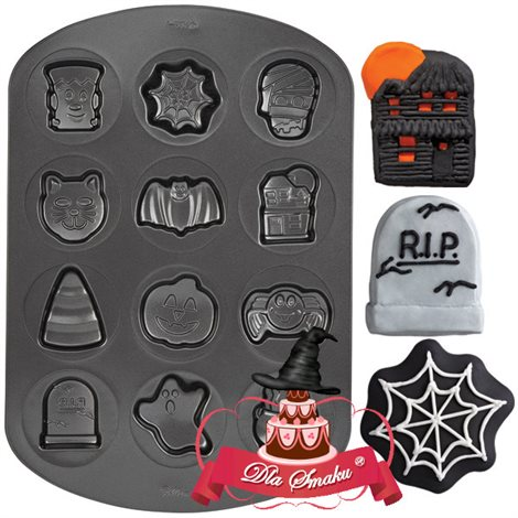WILTON TEFLONOWA FORMA DO PIECZENIA HALLOWEEN WZ.1