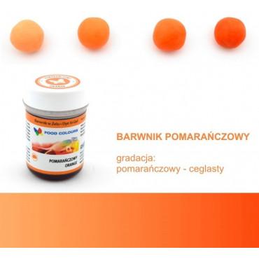 FOOD COLOURS BARWNIK W ŻELU POMARAŃCZOWY 35 GR