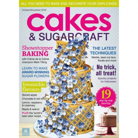 CZASOPISMO SK CAKES & SUGARCRAFT WINTER 2015/16