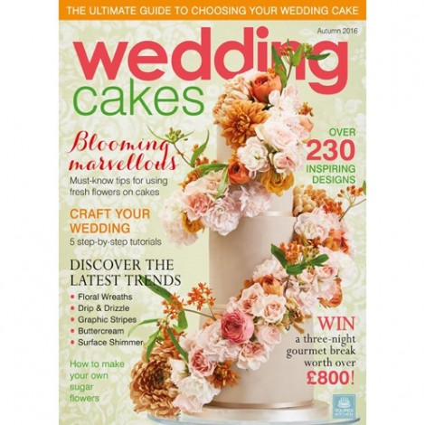 CZASOPISMO SK CAKES & SUGARCRAFT WEDDING AUTUMN 2016
