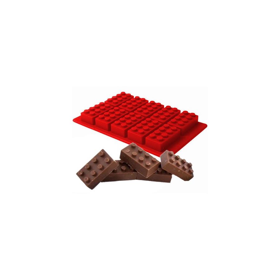 FORMA SILIKONOWA DO CZEKOLADEK LODU KLOCKI LEGO
