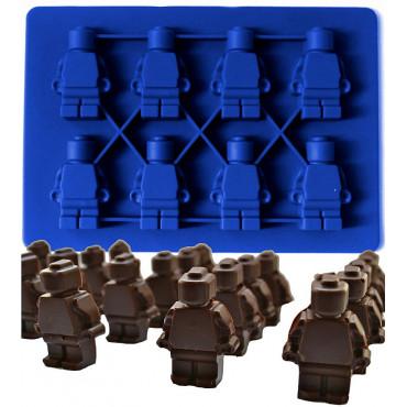 FORMA SILIKONOWA DO CZEKOLADEK LODU LUDZIKI LEGO MAŁE