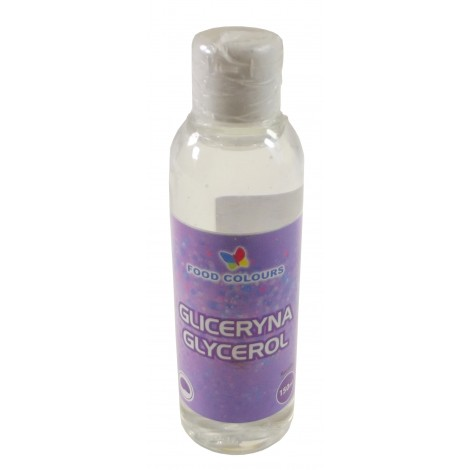 Gliceryna Spożywcza duża glycerol 150 ml Food Colours