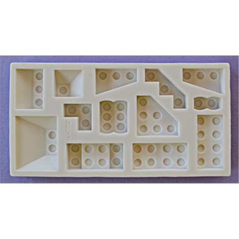ALPHABET MOULDS FORMA SILIKONOWA KLOCKI LEGO DUŻE MIX AM0260