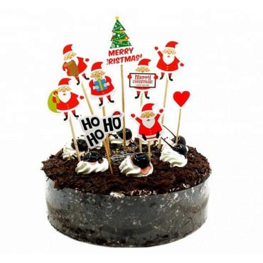 Toppery na Tort Wesołych Świąt