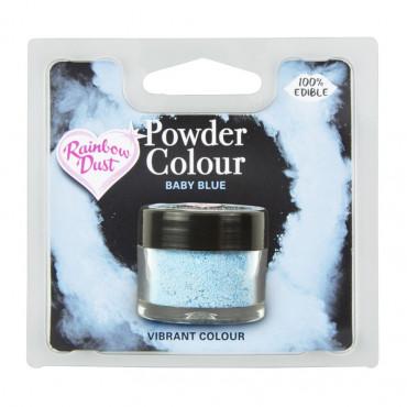 Rainbow Dust Barwnik pudrowy matowy do malowania DZIECIĘCY BŁĘKIT BABY BLUE