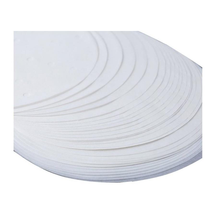 Papier do pieczenia silikonowany 30szt okrągły rozmiar mix