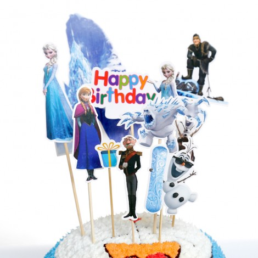 Toppery na tort Frozen 10 sztuk Sweet Baking