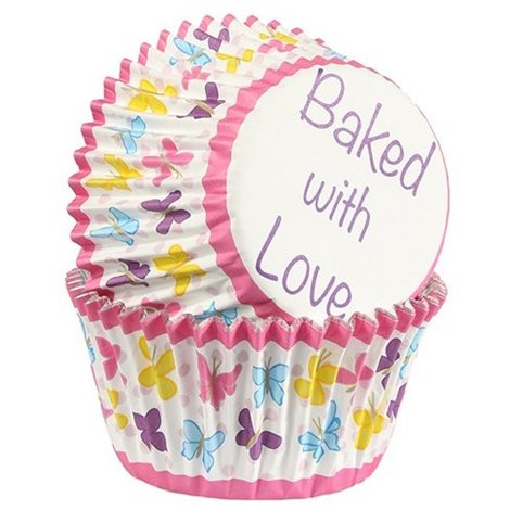 BAKED WITH LOVE PAPILOTKI DO BABECZEK MOTYLE