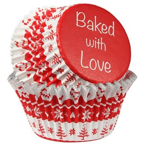 BAKED WITH LOVE PAPILOTKI DO BABECZEK WZÓR NORWESKI