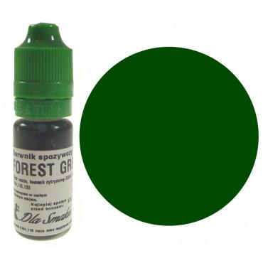 Barwnik spożywczy w płynie zieleń lasu FOREST GREEN 20ml Dla Smaku