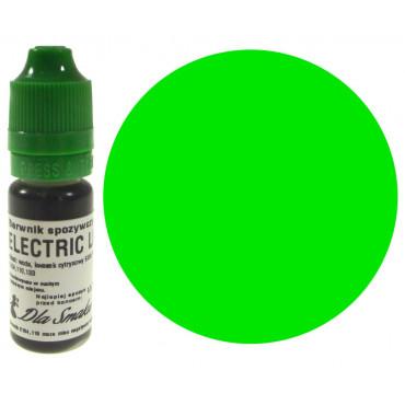 Barwnik spożywczy w płynie limonka ELECTRIC LIME 20ml Dla Smaku