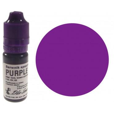 Barwnik spożywczy w płynie purpurowy PURPLE 20ml Dla Smaku