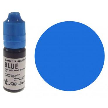 Barwnik spożywczy w płynie niebieski BLUE 20ml Dla Smaku