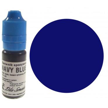 Barwnik spożywczy w płynie granatowy NAVY BLUE 20ml Dla Smaku