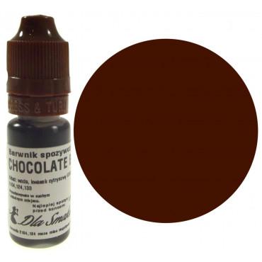 Barwnik spożywczy w płynie czekoladowy CHOCOLATE BROWN 20ml Dla Smaku