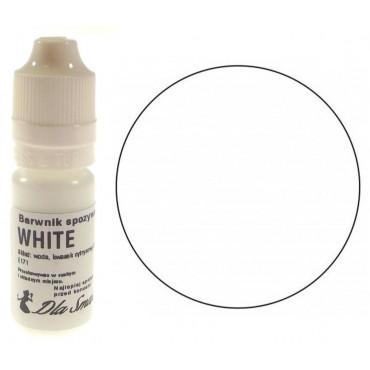 Barwnik spożywczy w płynie biały WHITE 20ml Dla Smaku