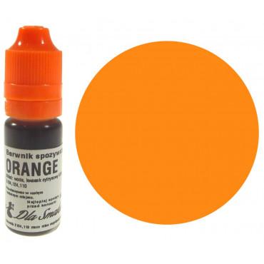 Barwnik spożywczy w płynie pomarańczowy ORANGE 20ml Dla Smaku