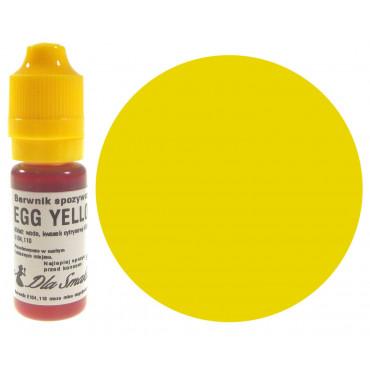 Barwnik spożywczy w płynie żółtko jajka EGG YELLOW 20ml Dla Smaku