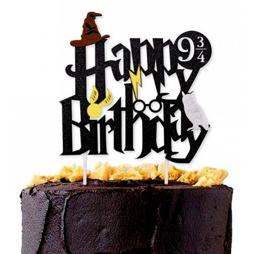 Topper na tort urodzinowy Harry Potter