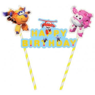 Topper na tort urodzinowy WINGS
