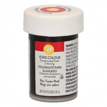 Barwnik spożywczy w żelu Wilton Czerwony bez smaku Red no taste