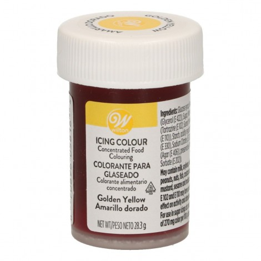 Barwnik spożywczy w żelu Wilton Złocisty żółty Golden yellow  04-0-0039