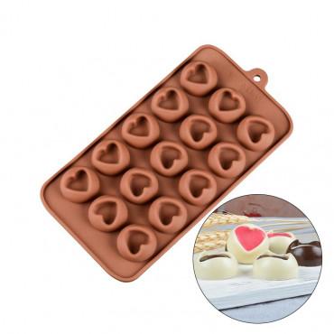 Forma do czekoladek SERDUSZKA Z NADZIENIEM