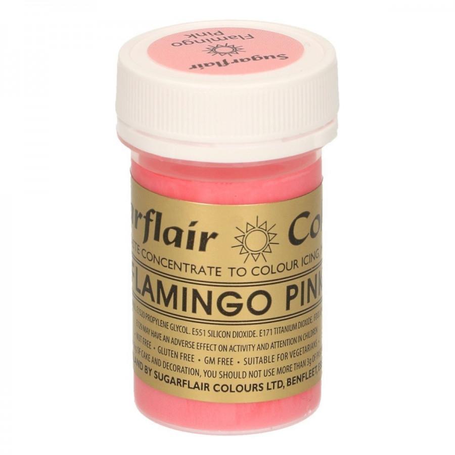 Barwnik w żelu do masy FLAMINGO PINK Sugarflair