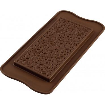 Forma silikonowa tabliczka czekolady ZIARENKA KAWY