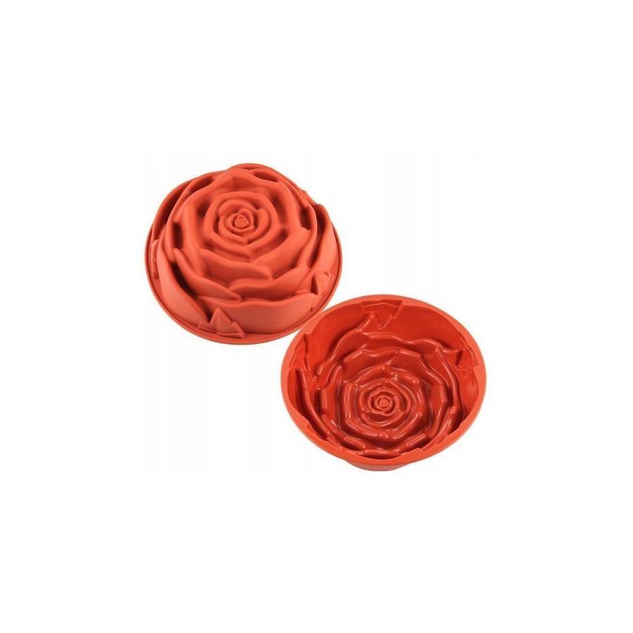 Forma silikonowa do ciasta RÓŻA 3D