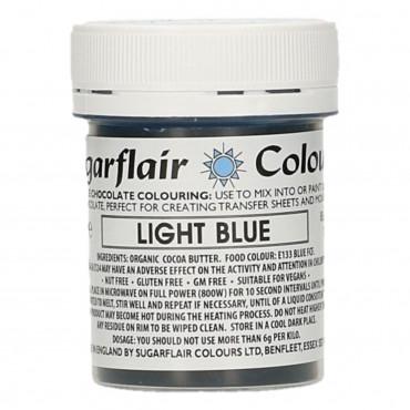 Barwnik do czekolady SUGARFLAIR LIGHT BLUE JASNY NIEBIESKI
