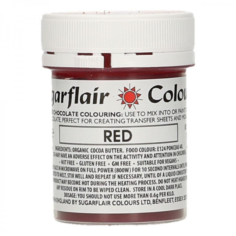 Barwnik do czekolady SUGARFLAIR RED CZERWONY