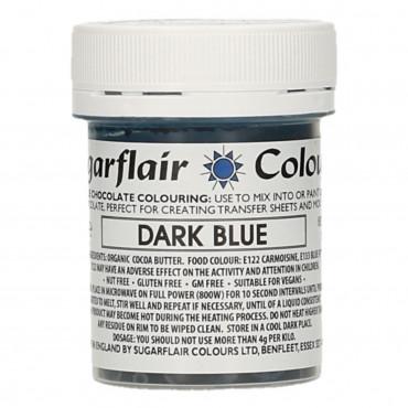 Barwnik do czekolady SUGARFLAIR DARK BLUE GRANATOWY
