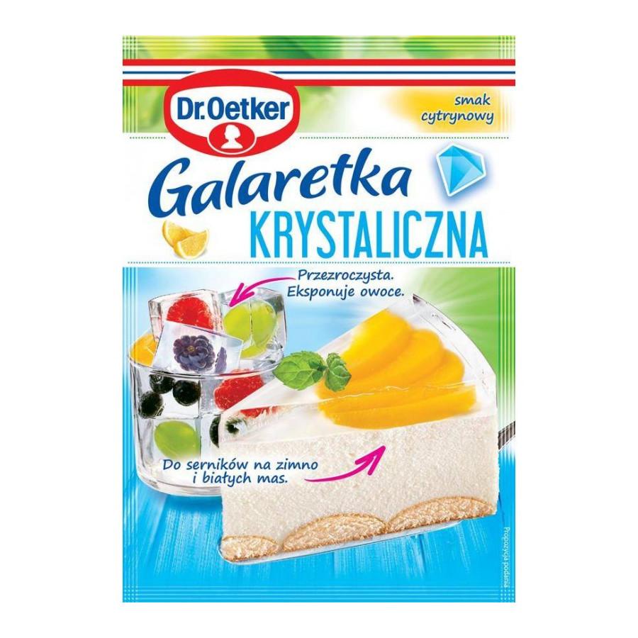 Galaretka krystaliczna smak cytrynowy Dr.Oetker