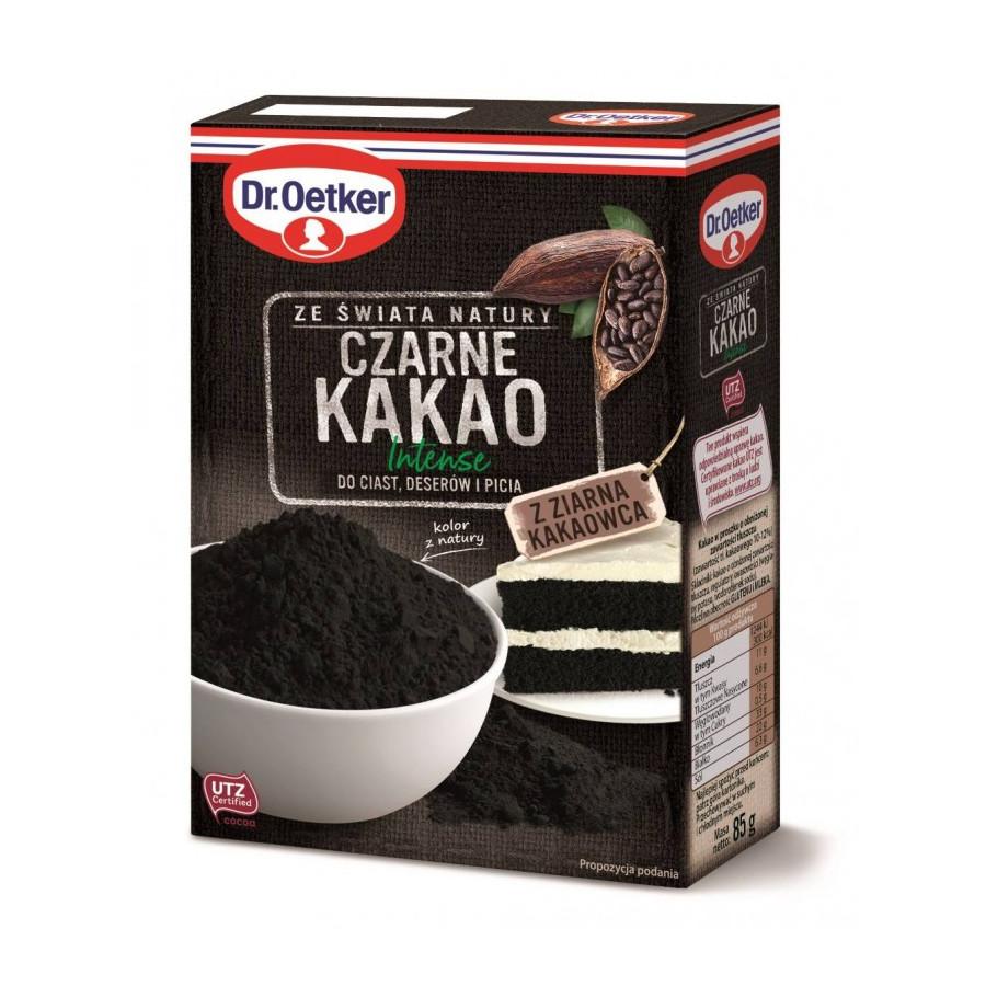 Czarne Kakao Intense do wypieków picia 85g