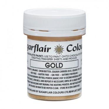 Barwnik do czekolady SUGARFLAIR ZŁOTY GOLD