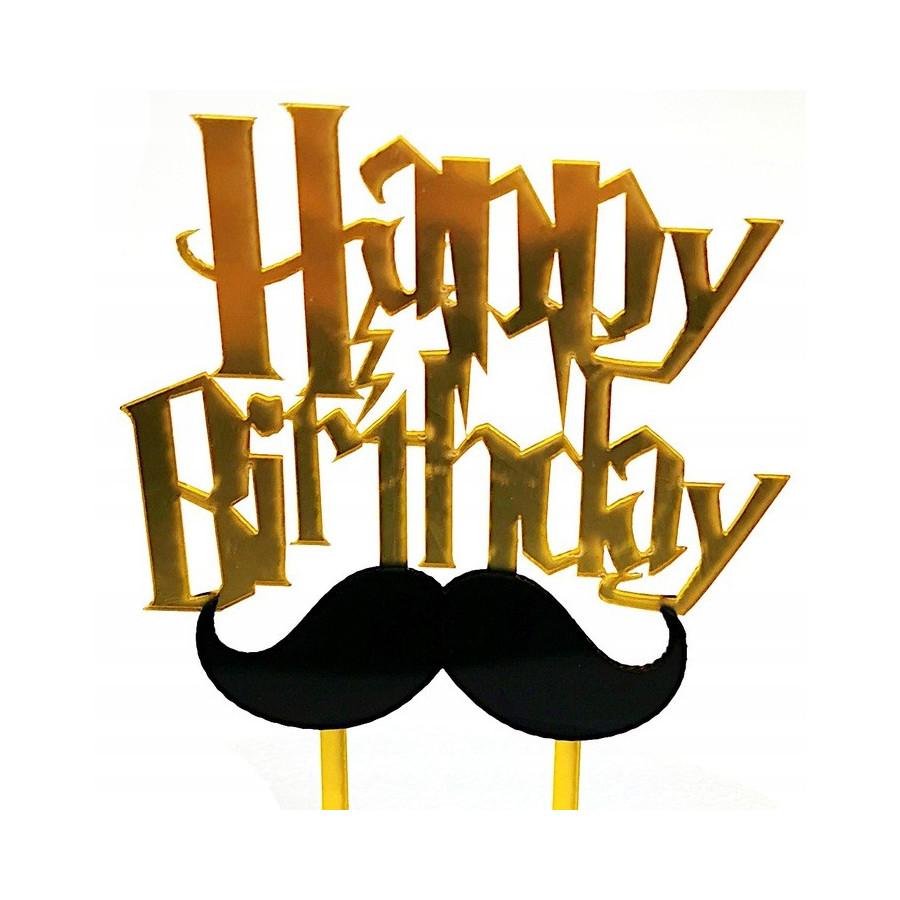 Topper akrylowy Happy Birthday Harry Potter 7888