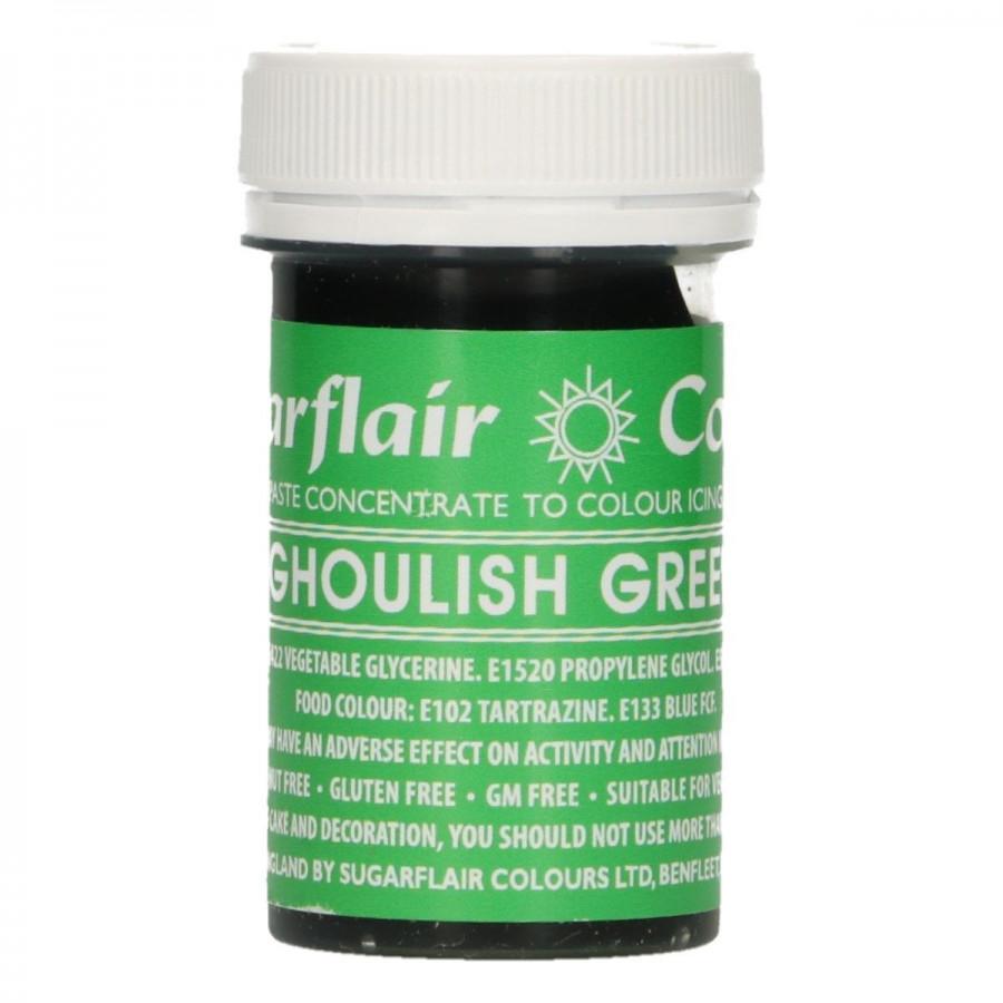 Barwnik w żelu do masy GHOULISH GREEN Sugarflair
