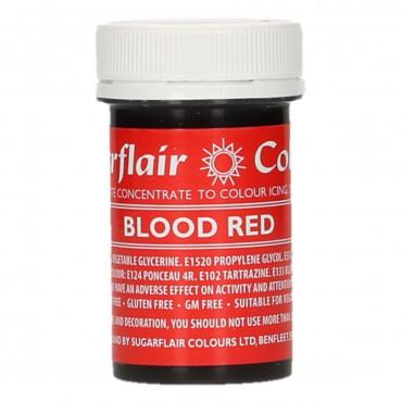 Barwnik w żelu do masy BLOOD RED Sugarflair