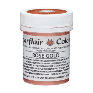 Barwnik do czekolady SUGARFLAIR ROSE GOLD RÓŻANE ZŁOTO