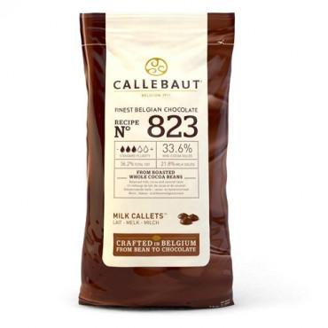 Dropsy czekoladowe Callebaut CZEKOLADA MLECZNA 823 1kg