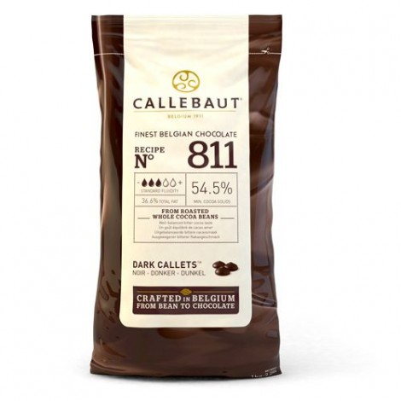 Dropsy czekoladowe Callebaut CZEKOLADA DESEROWA 811 1kg