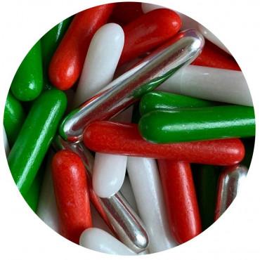 Posypka cukrowa MAKARONIKI MERRY CHRISTMAS 40g