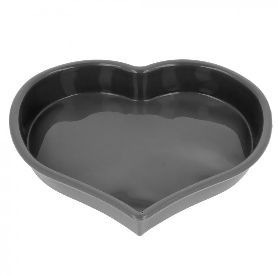 Tortownica forma blacha do pieczenia ciasta SERCE STAL WĘGLOWA 1040