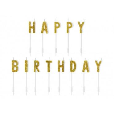 Świeczki urodzinowe happy Birthday PD