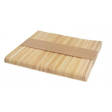 Patyczki drewniane do lodów 50szt 9,3cm