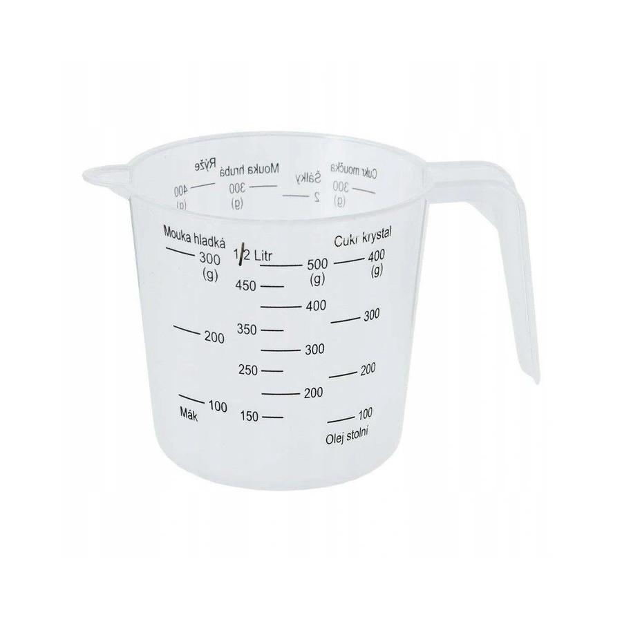 Miarka kuchenna kubek z miarką 0,5l
