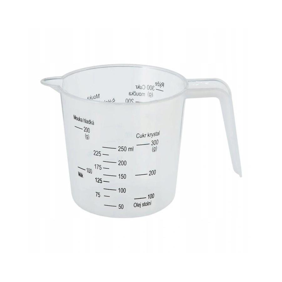 Miarka kuchenna kubek z miarką 0,25l