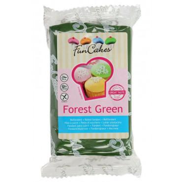 Fun Cakes Masa cukrowa lukier plastyczny FOREST GREEN ZIELEŃ LASU 250g